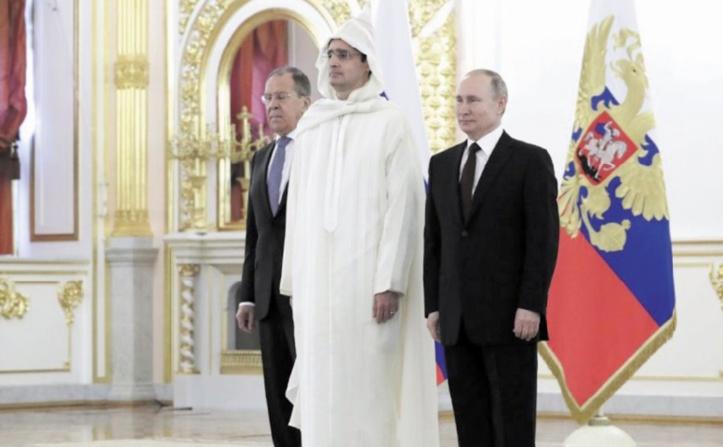 Le président Poutine loue le développement des relations entre la Russie et le Maroc