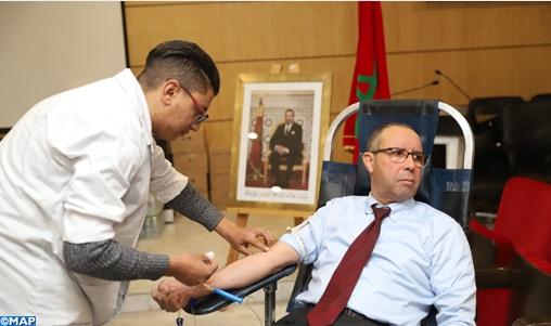 Lancement de la 6ème campagne de don de sang de l'UCA
