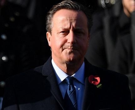 Insolite : L'oubli du garde du corps de David Cameron