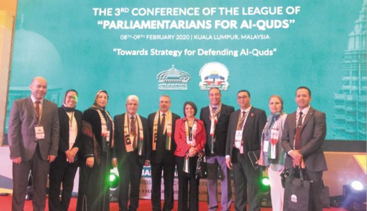 Participation marocaine au congrès de Kuala Lumpur sur la Palestine