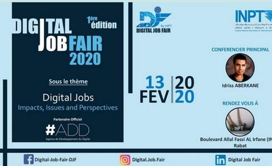 """""""Digital Job Fair"""", une manifestation destinée à accompagner l'essor des métiers du digital"""