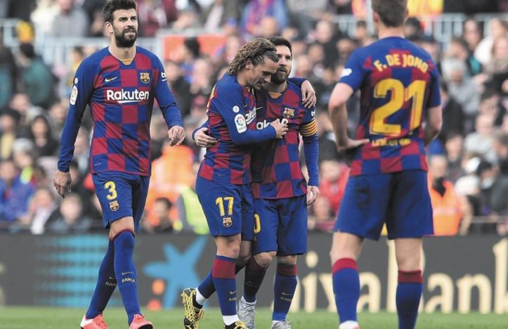 Messi et Griezmann s'entendent à nouveau