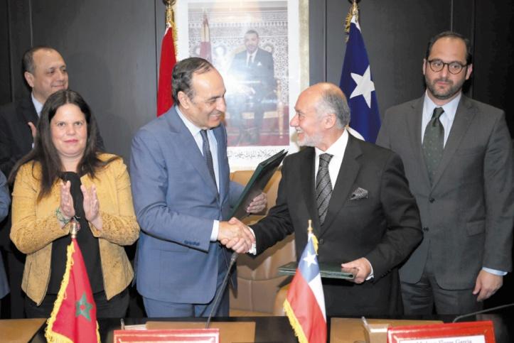 Mise en place d'un mécanisme de dialogue parlementaire entre le Maroc et le Chili