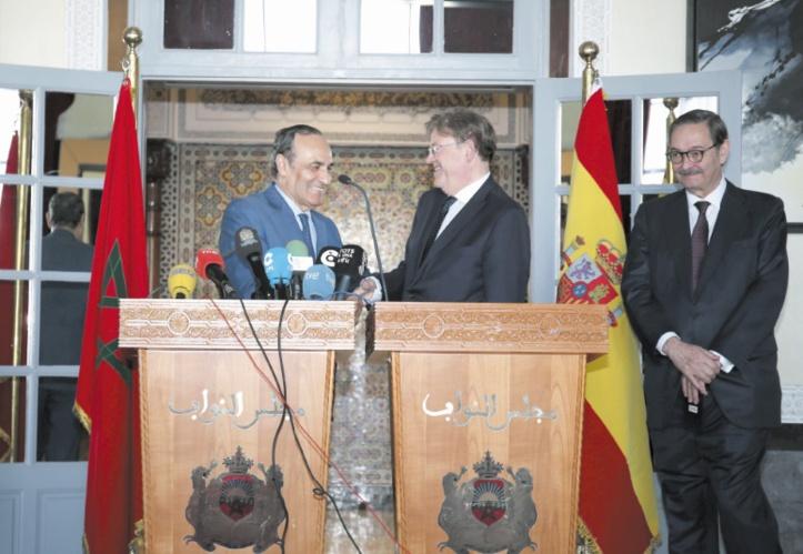 Examen des relations entre le Maroc et la région de Valence