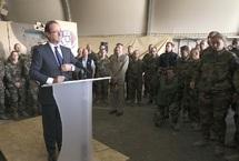 François Hollande promet  : Un retrait «ordonné» et «coordonné» d'Afghanistan