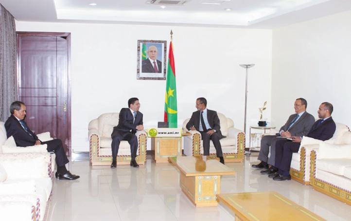 Entretiens maroco-mauritaniens sur les moyens de renforcer la coopération bilatérale