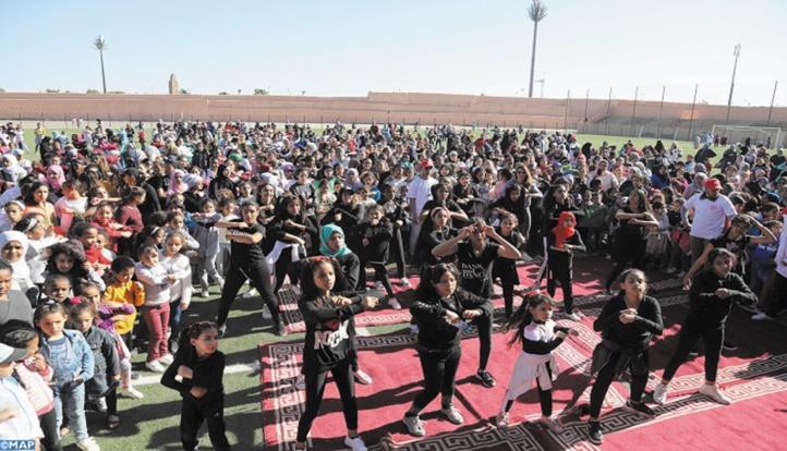 """Festival """"Stop drogue"""" : Une matinée dédiée à la promotion de la pratique du sport chez les femmes"""