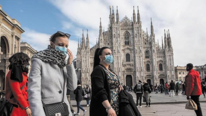 La contamination au Coronavirus s'accélère à travers la planète