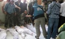 Sous les yeux impassibles de la communauté internationale, le régime syrien commet son pire crime : 92 morts dans un massacre à Houla
