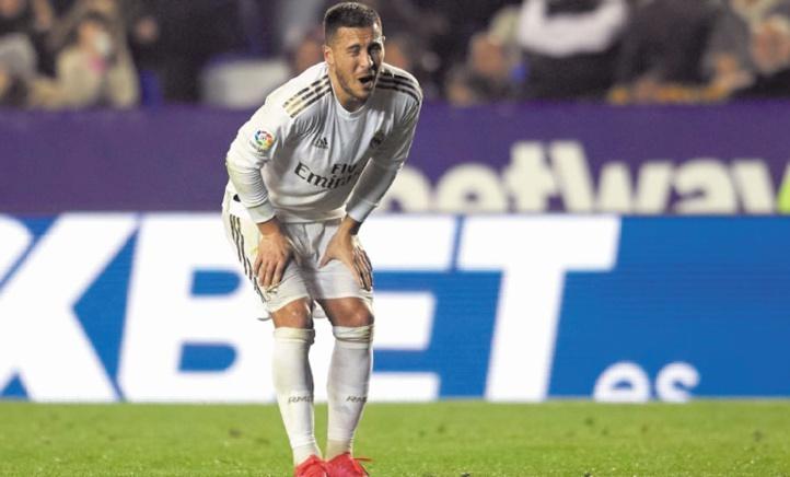 Eden Hazard Fissure de la cheville et gouffre d'inquiétudes