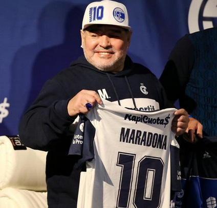 "Maradona: ""J'aimerais que nous les Napolitains ayons un Messi"""