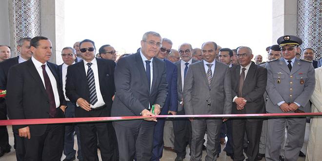 Mohamed Benabdelkader inaugure le nouveau siège du tribunal de première instance de Taza