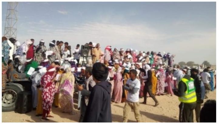 Les invités du Polisario se solidarisent avec ses opposants