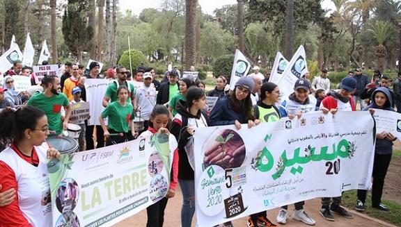 Marche citoyenne à Casablanca pour plus d'espaces verts