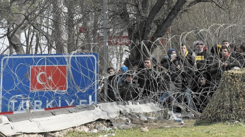 Erdogan menace l'Europe de millions de migrants