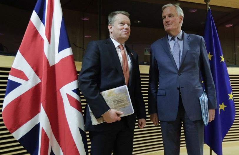 Ambitions divergentes entre Londres et l'UE sur les négociations post-Brexit