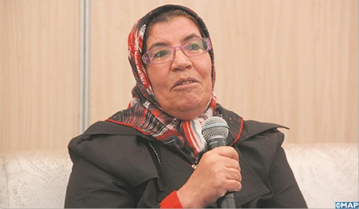 Fatiha Abdellah, présidente du Réseau national de la lecture et la culture