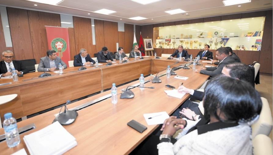 Réunion du Comité directeur de la FRMF
