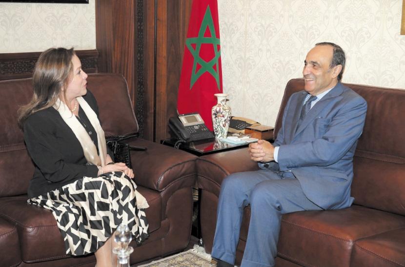 La promotion des relations maroco-colombiennes au centre d'entretiens à Rabat