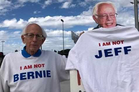 Insolite : Le sosie de Bernie Sanders