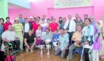 Handisport : Consécration des champions du Club de l'Avenir de Khouribga