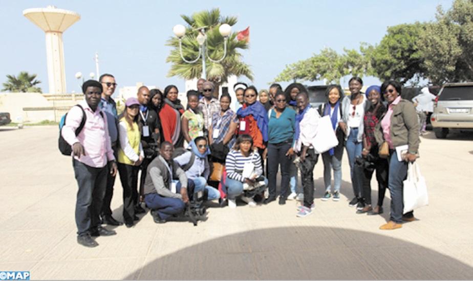 Les journalistes panafricaines à la découverte des charmes de Dakhla