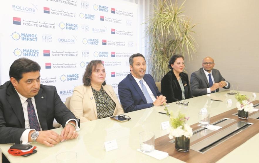 La Société Générale scelle un partenariat avec Maroc Impact et l'UH2C