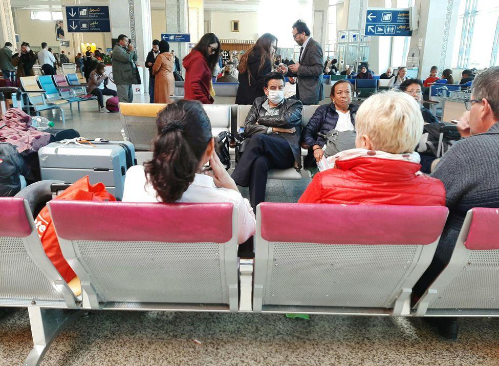 Les touristes rapatriés par avions spéciaux