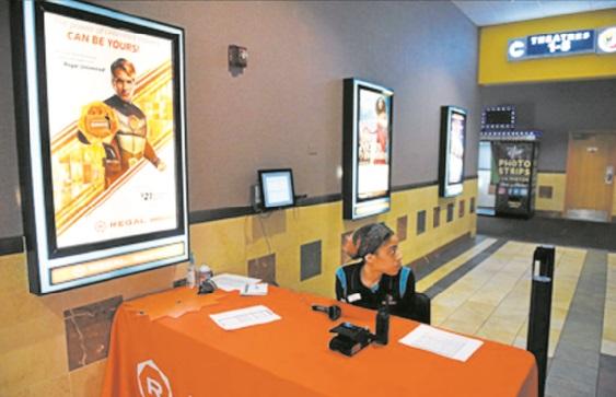 A cause du Covid-19, le box-office nord-américain au plus bas