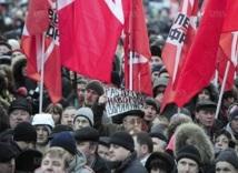 Les opposants à Vladimir Poutine dans les rues de Moscou