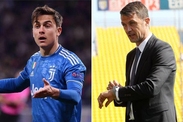 Paulo Dybala et Paolo Maldini testés positifs