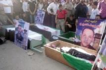 Manifestations massives et violences font le quotidien syrien