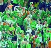 Des Irlandais splendides