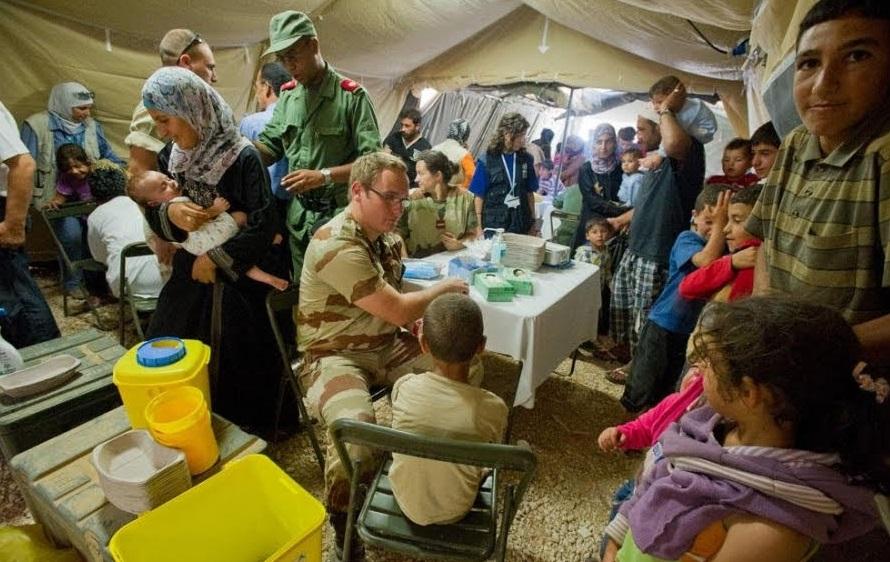 La médecine militaire à la rescousse dans la région de Marrakech-Safi