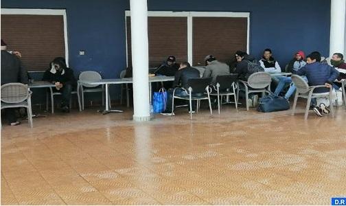 Vaste campagne d'hébergement des sans-abri à Al Hoceima