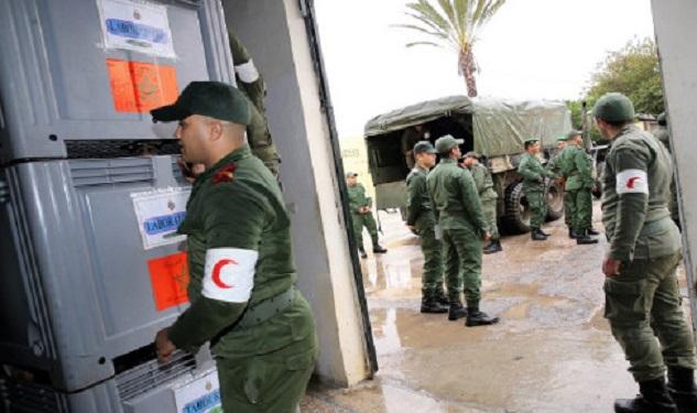 Des médecins militaires appelés à la rescousse à Tiznit, Tan Tan et Taza