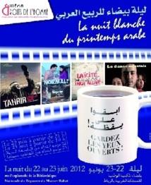 Rabat : La Nuit blanche cinématographique du Printemps arabe
