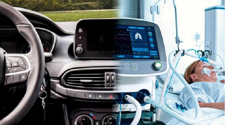 L'industrie automobile à la rescousse des hôpitaux