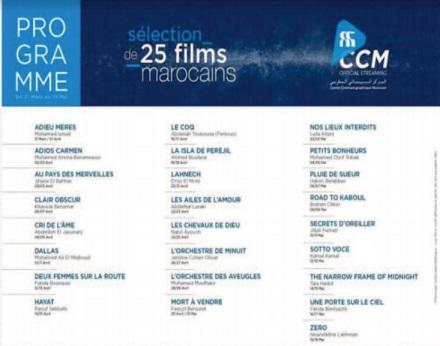 Le CCM met en ligne une série de longs métrages marocains