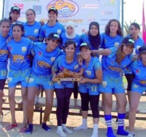 Tournoi international de beach rugby : Les Biterrois remportent le trophée du Vieux chameau