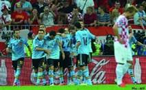 L'Espagne ne quitte pas des yeux son Graal