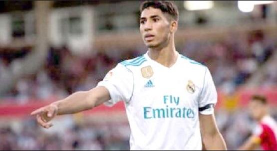 Hakimi au Real Madrid jusqu'en 2023