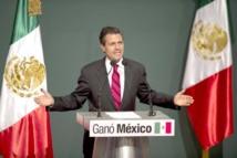 Enrique Pena Nieto,  nouveau président du Mexique