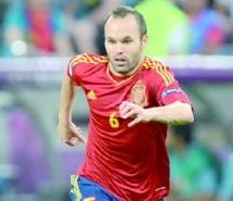 Euro 2012 : Iniesta, l'influence récompensée
