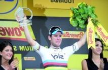 La Grande boucle en sa seconde étape : Mark Cavendish lorgne déjà le vert Fabian Cancellara toujours en jaune