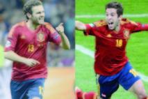 Jordi Alba et Juan Mata aux JO de Londres