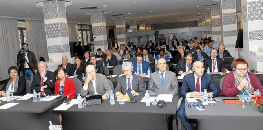 Photo prise à l'ouverture du séminaire de l'Alliance progressiste tenu à Rabat en novembre 2015