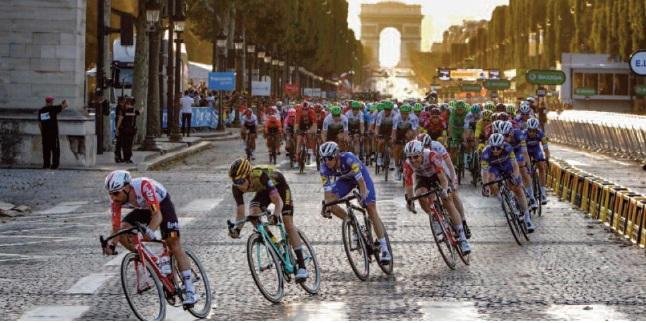 Le Tour de France à la fin de l'été