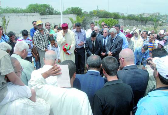 Sa dépouille ayant été retrouvée : Le martyr Chafiq  Al Madani enterré au cimetière  Ach-Chouhada de Casablanca