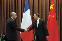 Laurent Fabius en visite en chine: Le chef de la diplomatie française  à Pékin pour une prise de contact